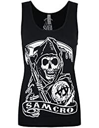 Official Sons Of Anarchy Samcro Women's Vest