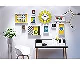 TAO Fotowand Moderne minimalistische Fotowand Sonnenuhr Kombination Bilderrahmen Wand Dekorative Home Malerei Zubehör 10 Stück Set ( Farbe : All white )
