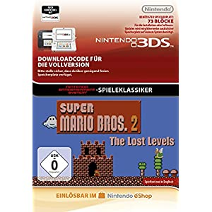Super Mario Bros.: Lost Levels [3DS Download Code]