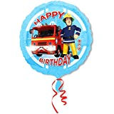 Sam El Bombero - Fireman Sam - Fiesta de Cumpleaños Globo de la Hoja Happy Birthday