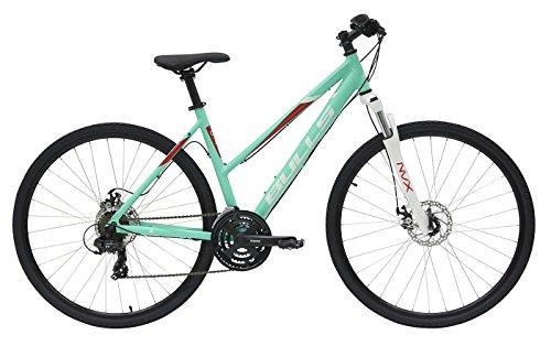 Damen Fahrrad 28 Zoll grün - Bulls Wildcross Crossbike - Shimano Schaltung 21 Gänge