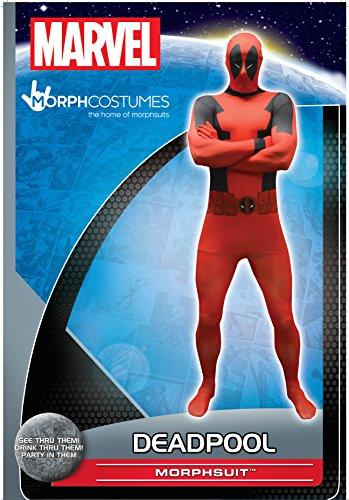 Imagen de morphsuits  disfraz, valor básico para deadpool 165 180 cm altura, talla l alternativa