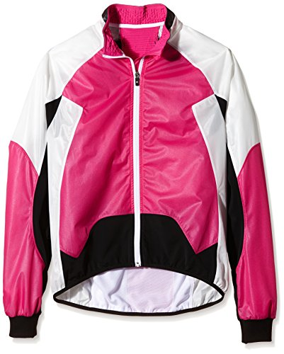 X-Bionic Erwachsene Funktionsbekleidung Biking Lady Spherewind UPD OW Jacket Pink/White/Black, XS