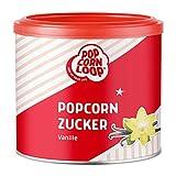 Popcornzucker Vanille 300g mit Bourbon-Vanille Zucker Vanillin Popcorn Mais Gewürz zum...