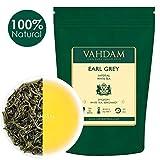 VAHDAM, Earl Grey Imperial Weißer Tee Loose Leaf (25 Tassen)   GESUNDHEITLICHER TEE, 100% NATÜRLICHE weiße Teeblätter   LEISTUNGSFÄHIGE ANTI-OXIDANTEN   Loose Leaf Earl Grey Tea   50gr