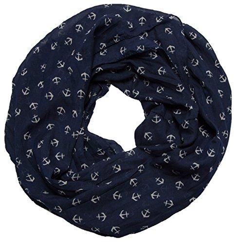 Loop-Schal Damen Frühjahr Herbst Schlauchschals Jersey Handarbeit neu