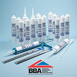 DryFix DPC Damp Proofing Injection Cream 380ml BBA x 16 Kit