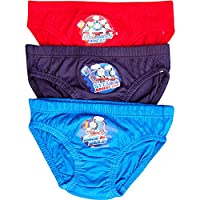 Boy's Thomas The Tank Engine Novelty Hipster Briefs Pants Set (3 Pair Pack) (4-5 Years)