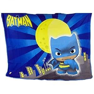 BATMAN - Marvel - Little Mates plaid ou couverture polaire Batman 150 x 120 cm