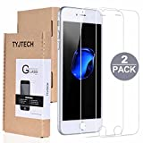 Protector TYJTECH vetro temperato schermo per iPhone 7 Plus 5.5 inch This very high quality screen protector is made for heat treated tempered glass and is designed to protect the screen of your iPhone 6/6sCaratteristiche: *The 9H+ hardness c...