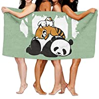 544456ffde Comfy Bed Panda Raccoon Rabbit Hamster Beach Towels Ultra Absorbent Microfiber Bath Towel Picnic Mat For Men Women Kids