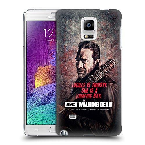 alking Dead Lucille Vampir Fledermaus Negan Ruckseite Hülle für Samsung Galaxy Note 4 (Negan-fledermaus)