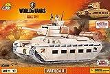 Bausteine Konstruktion Spielzeug kleine Armee Panzer Matilda II World of Tanks Bauklötzen