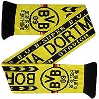 BVB Borussia Dortmund Football Crest Scarf