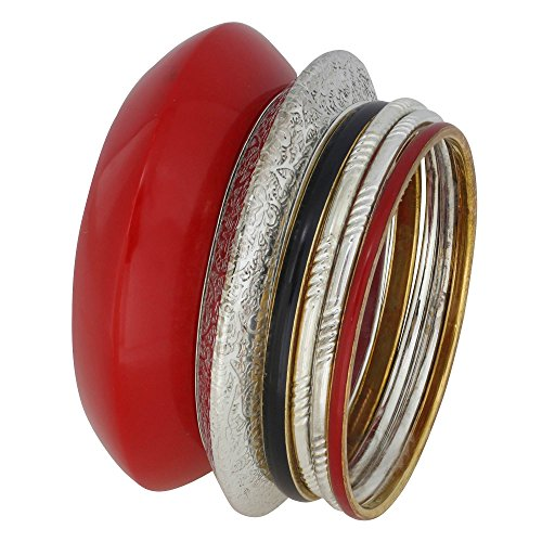 bijoux-fashion-bracelet-rouge-indienne-bangles-cadeau-de-noel-a-la-main-de-sa