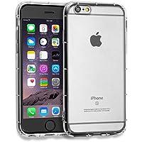 MyGadget Funda Slim para Apple iPhone 6 / 6s Clara Transparente en Silicona TPU - Carcasa protectora ultra delgada Protección de bordes - Transparente