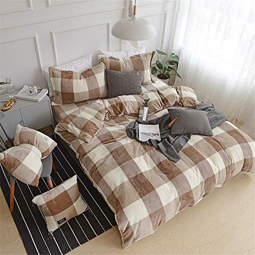 Funda Reversible Coverlet Conjunto ropa cama franela