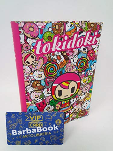 DIARIO AGENDA TOKIDOKI CANDY GIRL 2019-2020 MEDIUM CM. 13,5 X 18 ART.60745