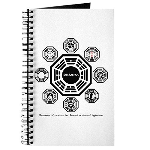 CafePress-Dharma Stationen-Spiralbindung Journal Notizbuch, persönliches Tagebuch, liniert -