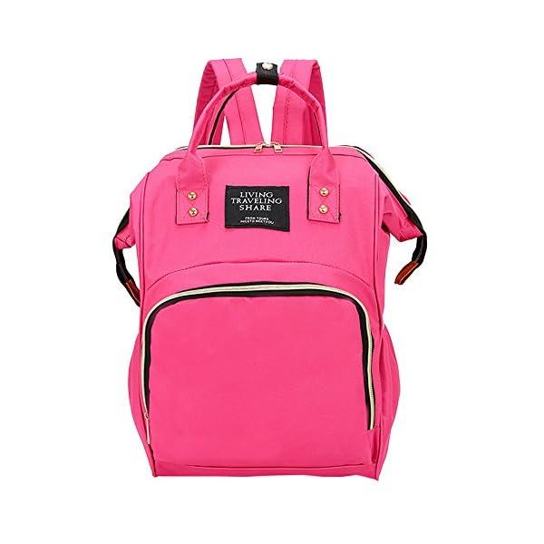 a176e445d8 Innerternet Zaino Donna Borsa Colore Solido Oxford Stoffa Grande Backpack  Capacità Zaino,Borsa Per Bambini Sacchetto Della Mummia   GuidaCANI.it