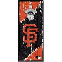 WinCraft San Francisco Giants MLB Schild mit Flaschenöffner