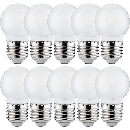10 x Paulmann LED Leuchtmittel Tropfen 2,5W E27 Satin satiniert 200lm Kugel warmweiß 2700K 360°