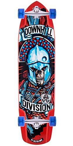 Sector 9 Javelin Downhill Division Complete Longboard Skateboard W/ Caliber Trucks, Sector 9 Wheels by Sector 9