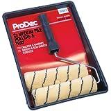 ProDec Kit de 2 rouleaux  peinture en velours moyen 23 x 4,5cm PRRT008