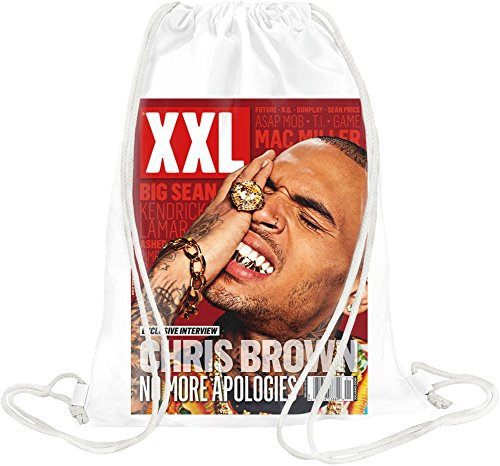 Chris Brown XXL No More Apologies Drawstring bag - Lil Xxl Wayne