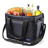 Shiplies Kühltasche Picknicktasche, Wiederverwendbare Isolierbeutel Für Lebensmittel Hält Essen Warm Oder Kalt (23.6 Litern)