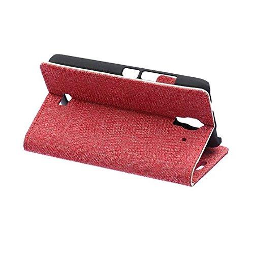 EKINHUI Case Cover Huawei Y360 Fall reines Folio magnetische Design Flip Brieftasche Stil Fall Farbmuster PU-Leder-Abdeckung Standup-Abdeckungsfall für Huawei Y360 ( Color : 2 , Size : Y360 ) 2