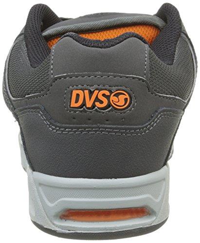 DVS Apparel Enduro Heir, Baskets Basses Homme Gris (Grey/Orange Gunny)