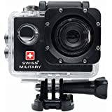 Swiss Military CAM1 Wanderer Water-Proof Digital Action Camera (Black)