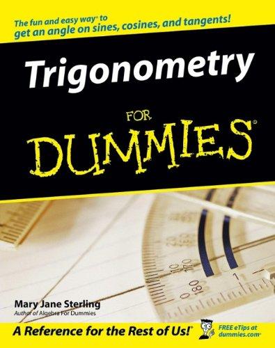 Trigonometry For Dummies® PDF Books