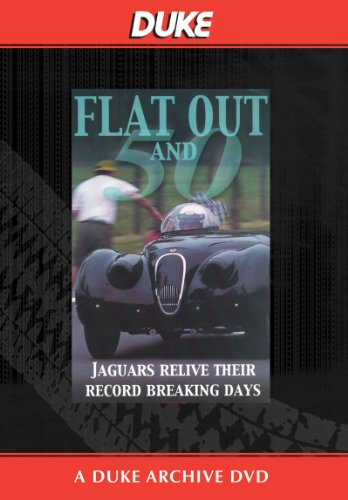 Flat Out and Fifty - Jaguars at Jabekke DVD -