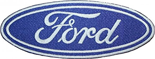 "Price comparison product image Ford Logo Embroidered Patch 8"" Sew-on or Iron-on"