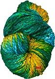 #8: M.G Sumo Parrot Mix 200 gm Wool hank Hand knitting wool / Art Craft soft fingering crochet hook yarn, needle Acrylic knitting yarn thread dyed