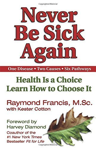 Never be Sick Again by Raymond Francis (2002-11-21)