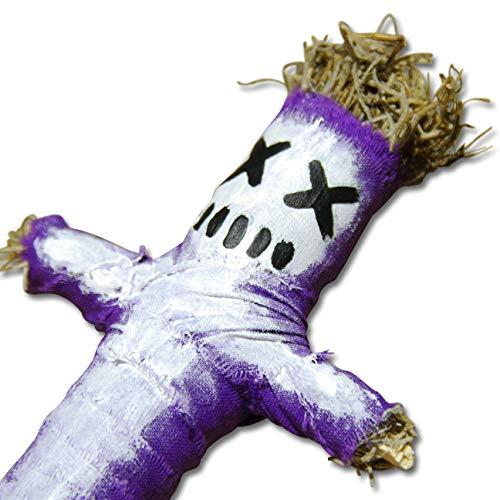 Boumba Voodoo Doll - New Orleans Voodoo Puppe mit Nadel und authentischer Ritualanleitung für einen Domination Zauber