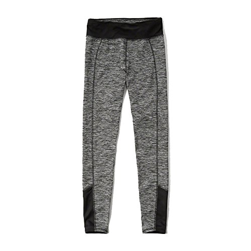 Abercrombie & Fitch Sport Leggings in grigio-NUOVA COLLEZIONE 2016 Grey Small