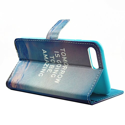Hülle für iPhone 7 plus , Schutzhülle Für iPhone 7 Plus Malerei Eiffelturm Muster Horizontale Flip Leder Tasche mit Halter & Card Slots & Wallet ,hülle für iPhone 7 plus , case for iphone 7 plus ( SKU IP7P3639E