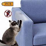 Kitchen-dream 2 protecteurs d'éraflure de chat de PCS, auto-adhésifs avec la goupille tordue Garde de meubles d'animal familier, protecteur de divan pour des meubles, sofa, mur, matelas, 45X20CM...