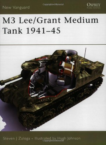 M3 Lee/Grant Medium Tank 1941-45 (New Vanguard)