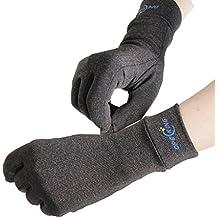 Artritis guantes,guantes de compresión para artritis, artrosis, escritura con el teclado del ordenador, dailywork – Mano Guantes para artritis alivio de dolor en las articulaciones síntoma – Hombres y Mujeres