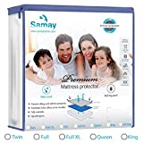 Samay und Bettwanzen Wasserdichte Matratzenauflage Reißverschluss Matratze umgreifung, Full Size, alle Größen erhältlich