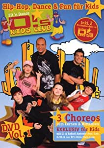 D!'s Kids Club Vol. 1 - Die Tanz DVD für Kids (1 DVD)