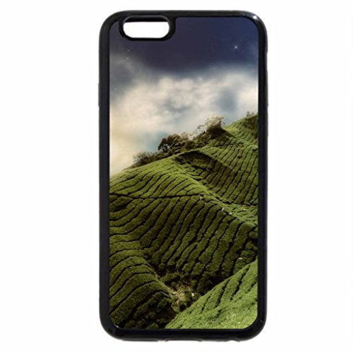 iPhone 6S / iPhone 6 Case (Black) Green Nature