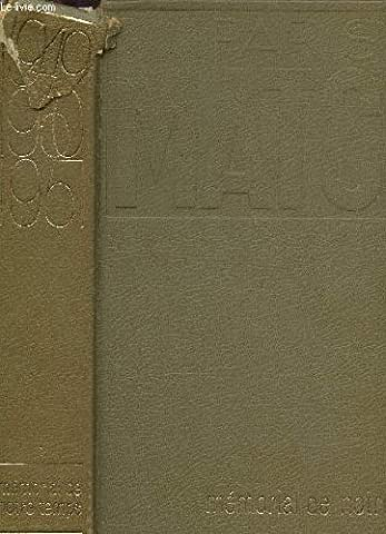 MEMORIAL DE NOTRE TEMPS TOME I : ANNEES 1949,1950,1951.