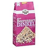 Bauckhof Dinkel Müsli, Beerenzart, 1-er Pack (1 x 425 g) - Bio
