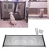 Colorful Hunde Absperrgitter, Pet Hund Isolierte Mesh Sicherheit Türen,Faltbar Kunststoff Hund Safe Guard Trennwand installieren überall, Tragbar Safety Dog Barrier (72 × 180 cm)